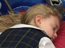 Little Girls Napping