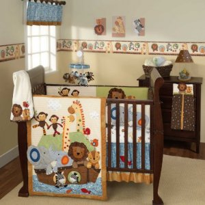 Noah's Ark Bed Set
